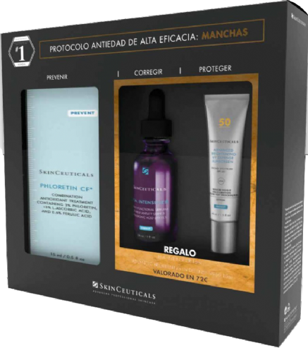 Skinceuticals cofre phloretin aox 2021 + REGALO 72€ EN PRODUCTOS SKINCEUTICALS