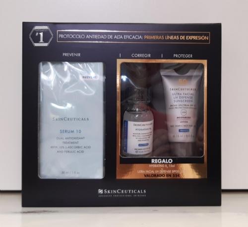 Skinceuticals cofre serum 10 aox 2021 + REGALO 55€ PRODUCTOS SKINCEUTICALS