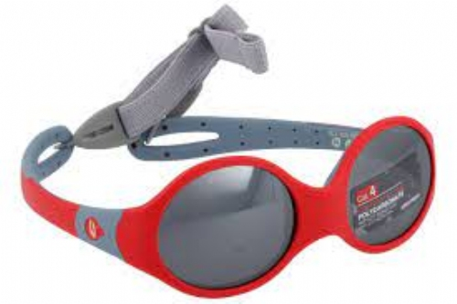 Gafa de sol julbo infantil loop m rojo gris+ REGALO SMARTWATCH