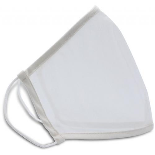 Mascarilla ennage translucida blanca t.m