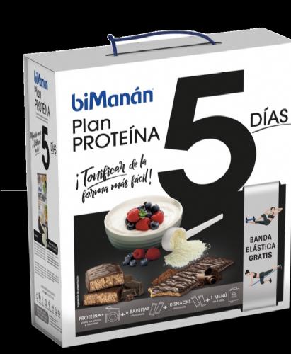 Bimanan plan 5 dias proteina