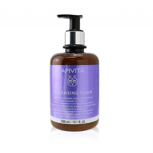 Apivita cleansing foam cara y ojos 300ml
