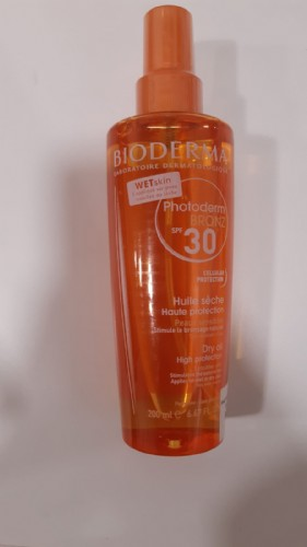 Photoderm bronz aceite spf 30 / uva 13 - bioderma (spray 200 ml)