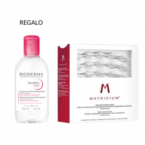 Matricium esteril (30 monodosis 1 ml)+ REGALO AGUA MICELAR SENSIO 250ML