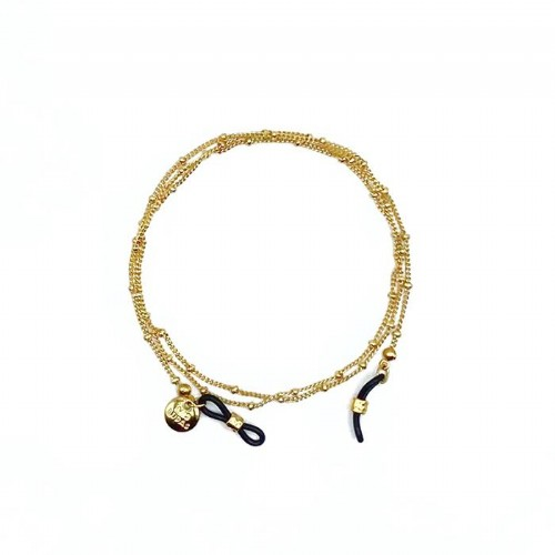 Cordon gafas dots oro