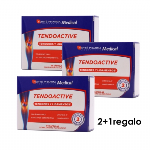 Tendoactive pack 2+1