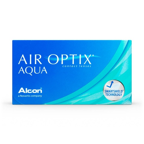Lentillas Alcon Air Optix plus Hydraglyde -1.25d