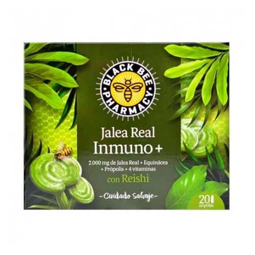 Black bee pharmacy jalea real inmuno+ x 20 amp