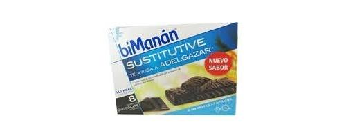 Bimanan beslim sustitutivo barritas (chocolate intenso 310 g 10 u x 31 g)