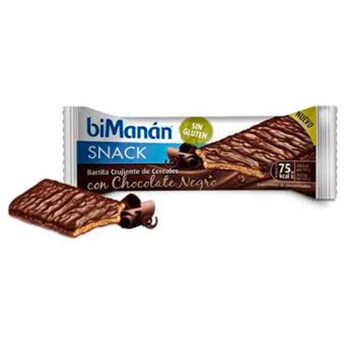Bimanan snack galleta chocolate negro