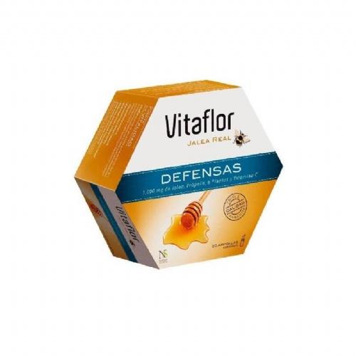 Vitaflor jalea real defensas (200 ml 20 ampollas bebibles)