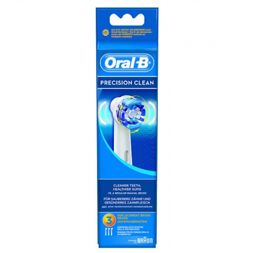 Cepillo dental electrico recargable - oral-b precision clean recambio (eb 17-3 3 u)