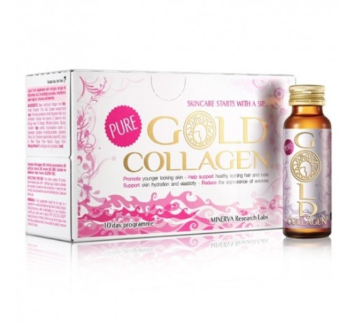 Pure gold collagen (50 ml 10 frascos monodosis)