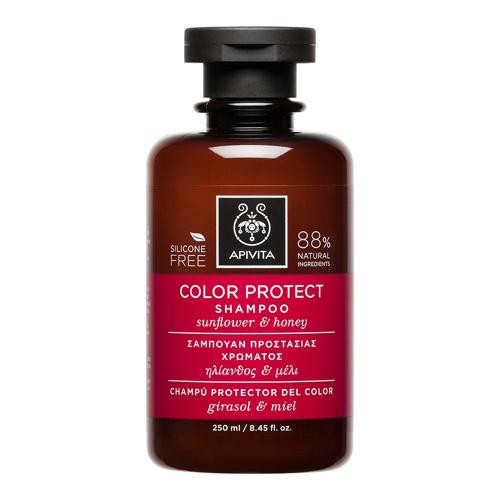 Apivita champu protector del color 250ml