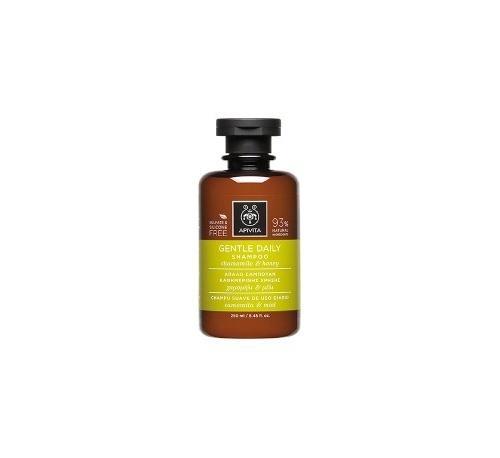 Apivita champu suave de uso diario 250ml