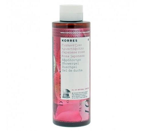 Korres gel de ducha rosa japonesa 250ml