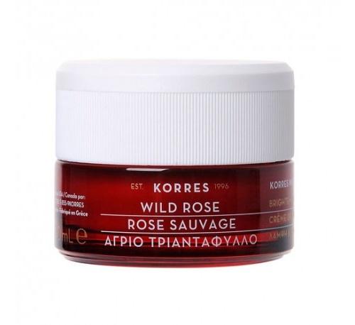 Korres crema de dia vit c rosa salvaje piel seca + REGALO GEL DE DUCHA 250ML