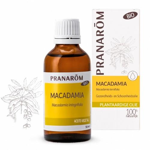 Pranarom aceite vegetal macadamia bio 50ml