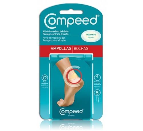 COMPEED AMPOLLAS - HIDROCOLOIDE (T- MED 5 U)