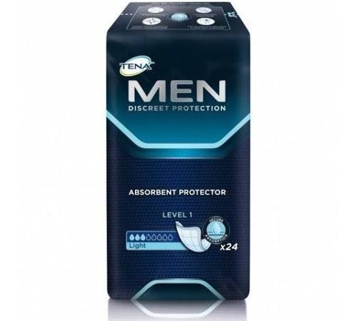Absorb inc orina ligera - tena men (level-1  12 u)