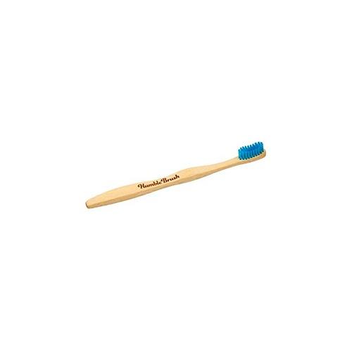 The humble cepillo dientes bambu medio azul