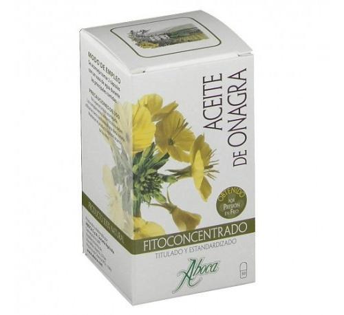 Fitoconcentrado aceite de onagra aboca (610 mg 50 capsulas)