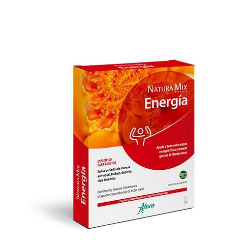 Natura mix advanced energia (10 frascos monodosis)