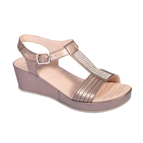 Sandalia scholl catelyn pewter t40