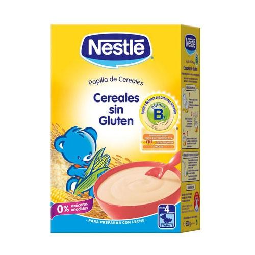 Nestle papilla cereales sin gluten (600 g)