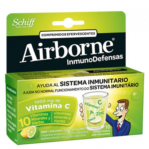 Airborne (inmunodefensas) (limon 10 comprimidos efervescentes)