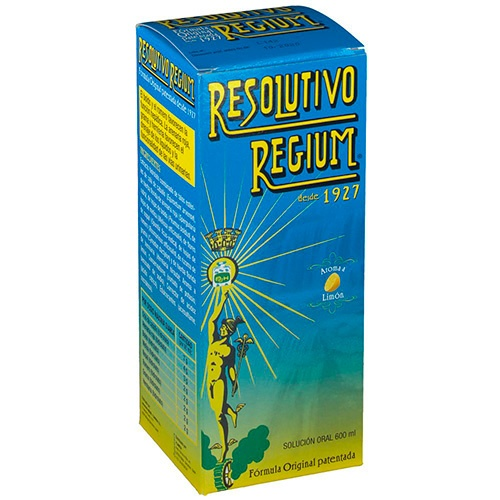 Resolutivo regium (limon 600 ml)