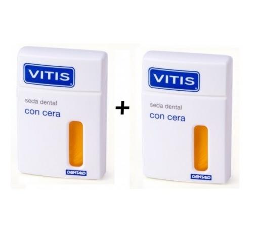 VITIS SEDA DENTAL CON CERA (50 M 2 U DUPLO)