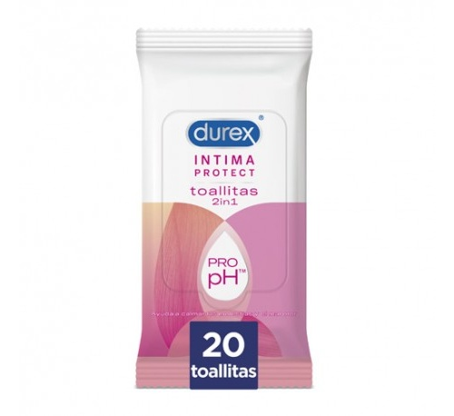 Durex intima protect toallitas
