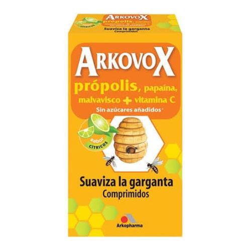 Arkovox propolis + vitamina c (24 comprimidos masticables sabor citricos)