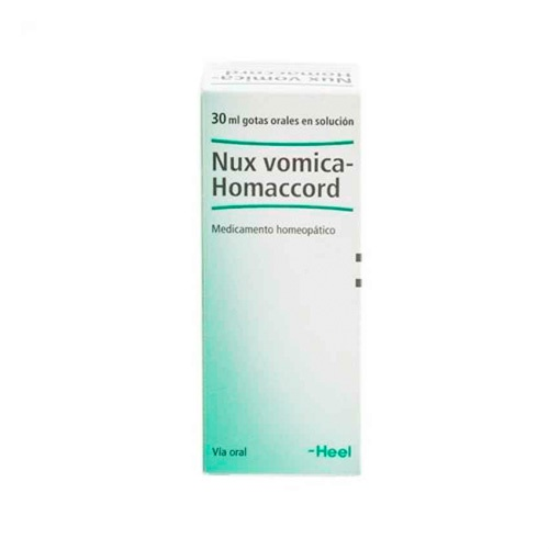 Heel nux vomica homaccord got  30