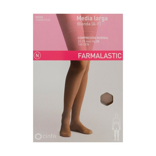 Media larga (a-f) comp normal - farmalastic blonda (camel t- gde)