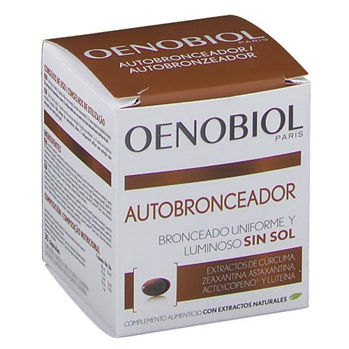 Oenobiol autobronceador (30 capsulas)