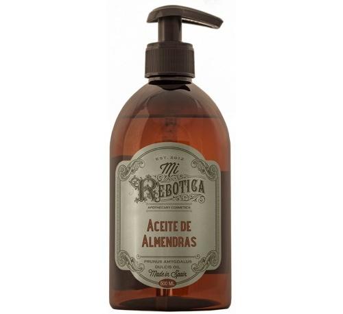 Mi rebotica aceite de almendras (1 botella 500 ml) + REGALO DE UN COLLAR