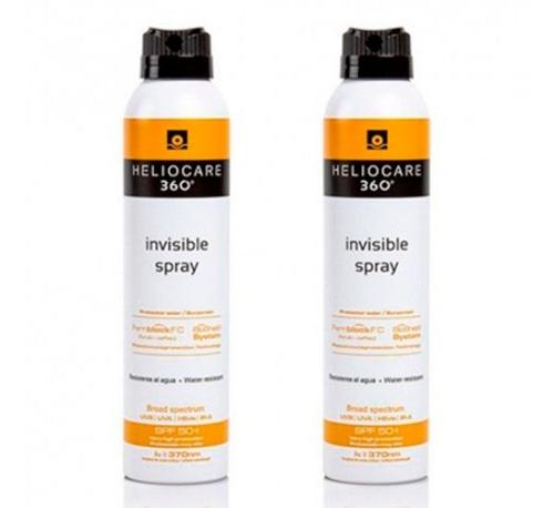 Heliocare 360º spf 50+ invisible spray - protector solar (200 ml)