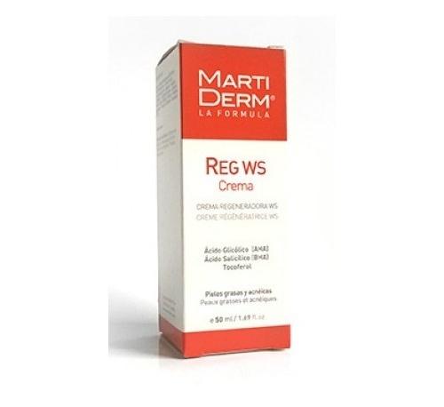 Martiderm reg ws - crema regeneradora w/s  p grasa (50 ml)
