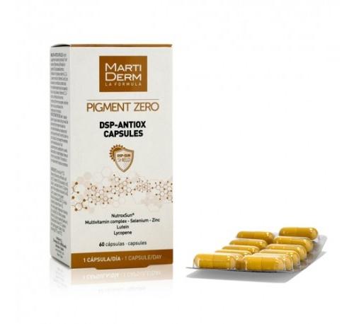 Martiderm pigment zero dsp-antiox (60 capsulas)