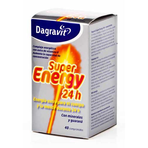 Dagravit super energy 24 h (40 comprimidos)