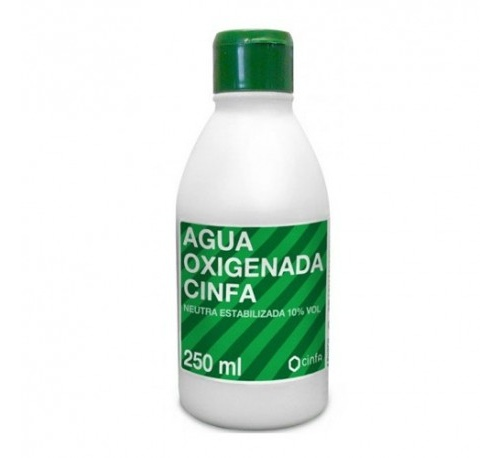 Agua oxigenada - cinfa (5,1% 1 frasco 250 ml)