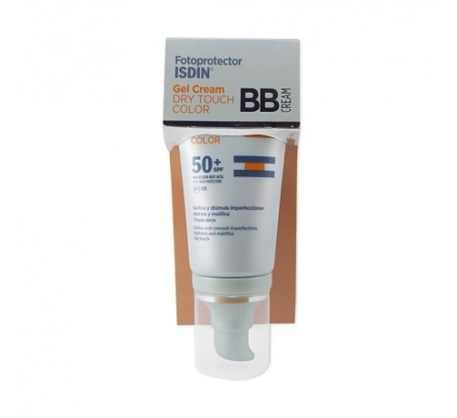 Fotoprotector isdin spf-50+ dry touch bb cream (gel crema color 50 ml)