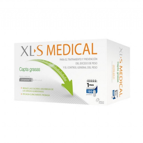 Xls medical captagrasas (180 comprimidos)
