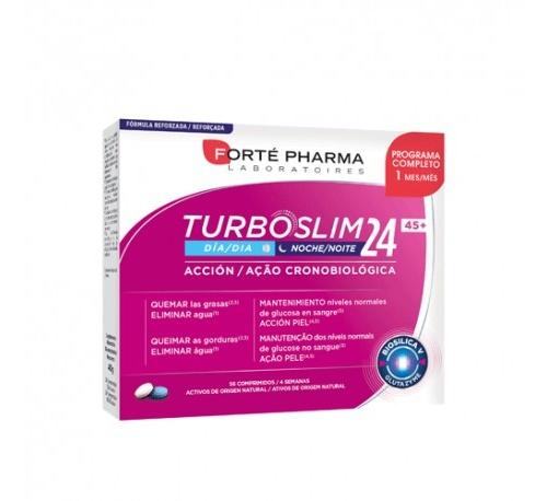 Turboslim 24 45+ (28 comprimidos dia + 28 comprimidos noche)