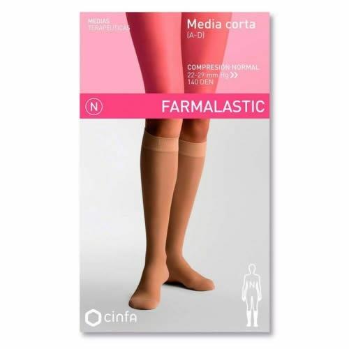Media corta (a-d) comp normal - farmalastic (negra t- reina plus)