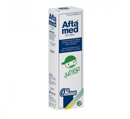 Aftamed junior gel oral (15 ml)