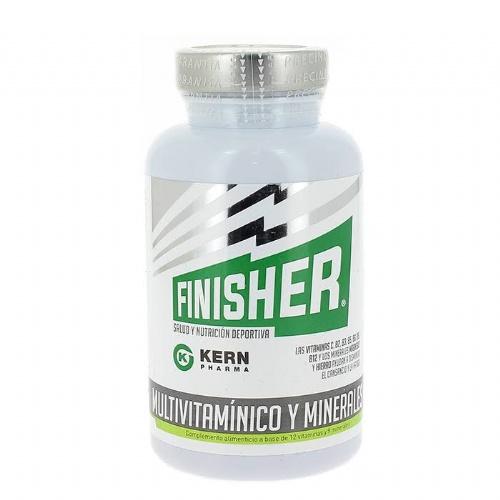 Finisher multivitaminico y minerales (60 capsulas)