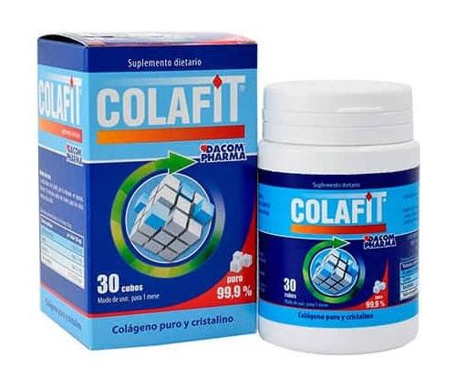 Colafit sabor neutro (30 cubos)